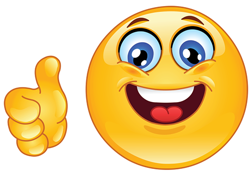 Yes smiley face clipart clipart freeuse library Thumbs Up Smiley | Symbols & Emoticons clipart freeuse library