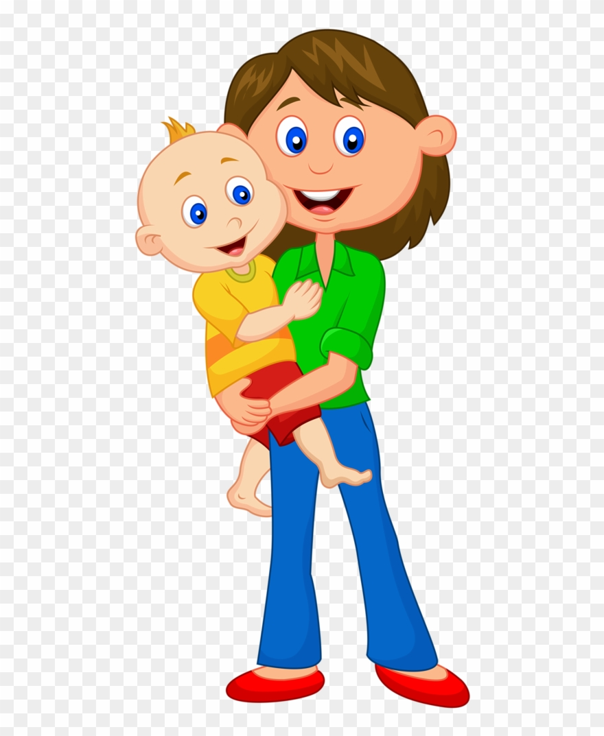 Yes mom clipart png freeuse stock Father Mother Cartoon Png Clipart (#39797) - PinClipart png freeuse stock