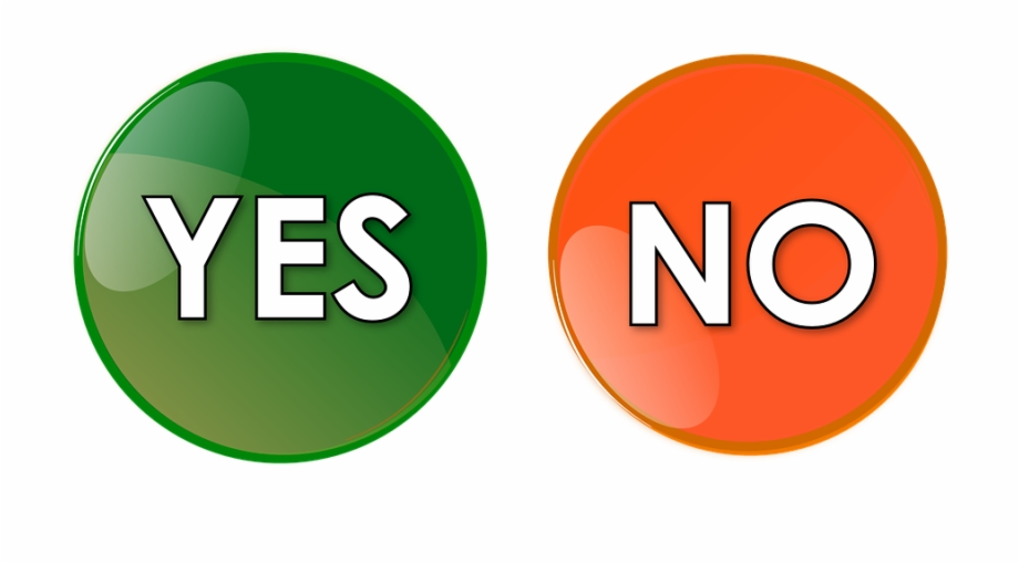 Yes no icon clipart picture free Yes No Button Orange Green Icon Symbol Sign - Yes And No ... picture free