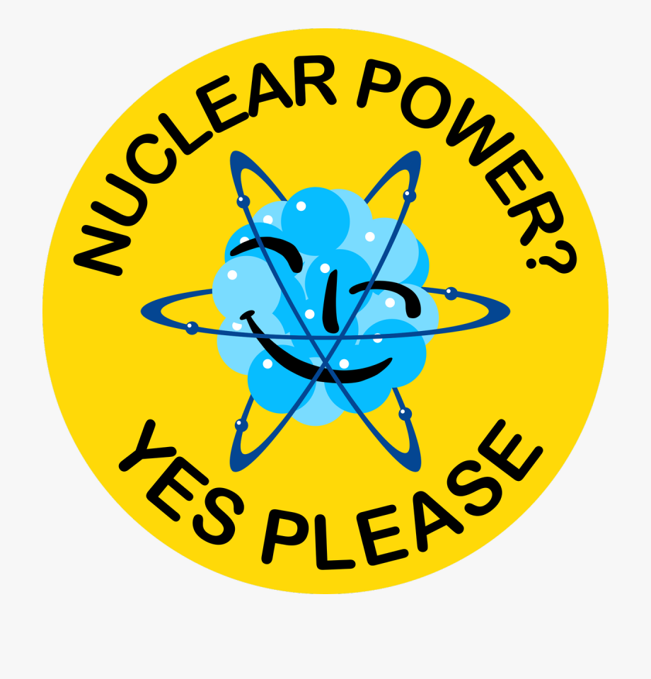 Yes please clipart svg royalty free library Aramburu On Twitter - Nuclear Power Yes Please #571545 ... svg royalty free library