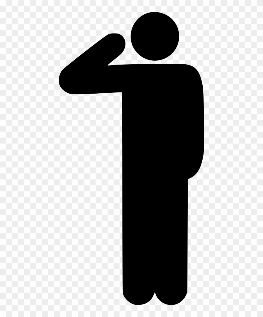 Yes salute clipart image stock Clip Art Free Download Hail Respect - Salute Icon Png ... image stock
