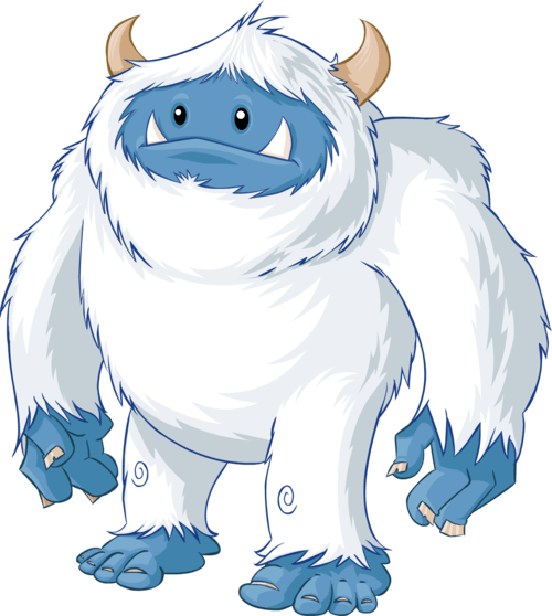 Yeti clipart images graphic black and white download Yeti clipart 5 » Clipart Portal graphic black and white download