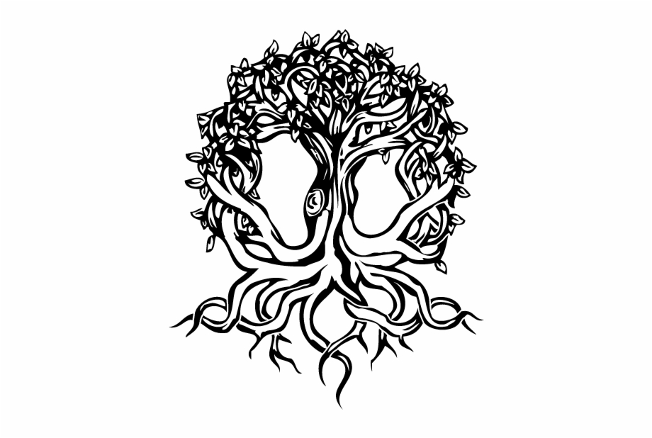 Yggdrasil tattoo clipart jpg free library Yggdrasil - Celtic Tattoo Designs Free PNG Images & Clipart ... jpg free library