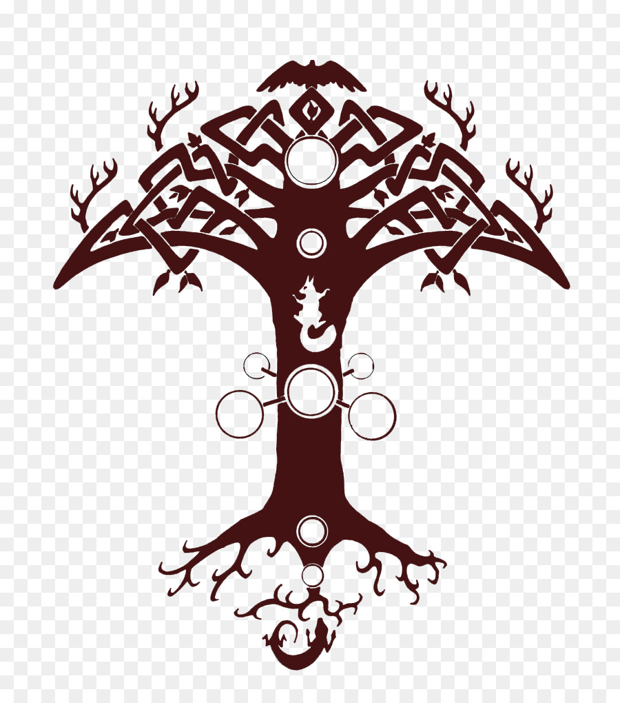 Yggdrasil tattoo clipart banner library download White Tree png download - 786*1017 - Free Transparent Tattoo ... banner library download