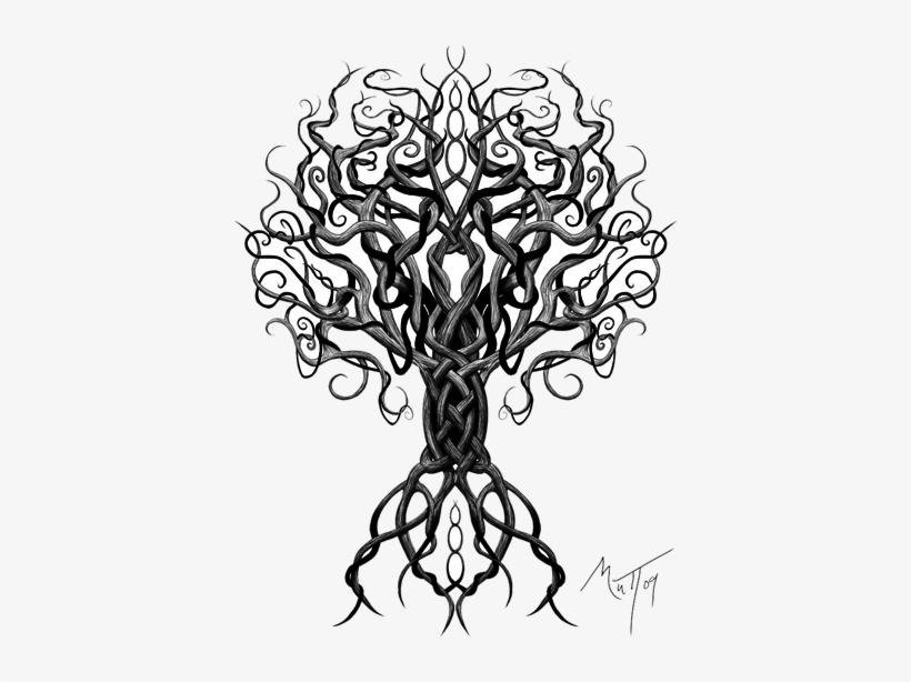 Yggdrasil tattoo clipart banner freeuse Download Celtic Tattoos Free Png Transparent Image ... banner freeuse