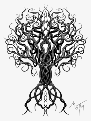 Yggdrasil tattoo clipart banner freeuse stock Tattoo PNG, Transparent Tattoo PNG Image Free Download ... banner freeuse stock