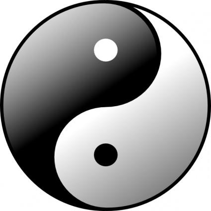 Yin yang clipart freeware vector library library Yin Yang clip art Free Vector - Signs & Symbols Vectors ... vector library library