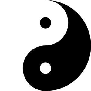 Yinyang clipart picture freeuse Ying Yang 11 Clip Art at Clker.com - vector clip art online ... picture freeuse
