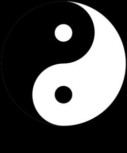 Yin yang image clipart image free download Ying Yang 8 Clip Art at Clker.com - vector clip art online ... image free download