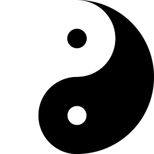 Yin yang image clipart image royalty free stock 74 free yin yang vector clipart   Public domain vectors image royalty free stock