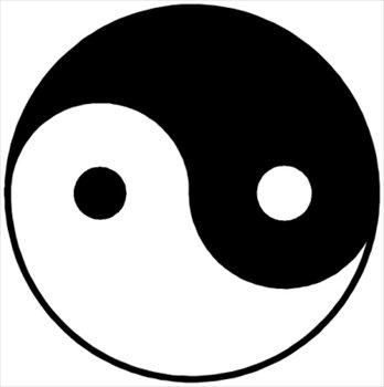 Yin yang image clipart clipart stock Yin Yang Clipart & Look At Clip Art Images - ClipartLook clipart stock