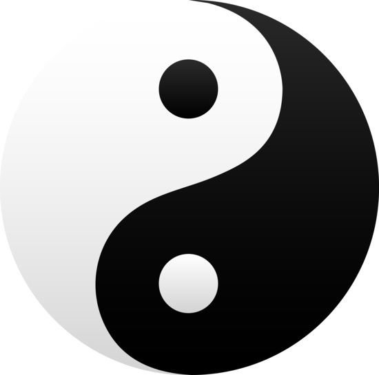 Yin yang image clipart svg freeuse download Free Pictures Of Ying Yang Symbol, Download Free Clip Art ... svg freeuse download