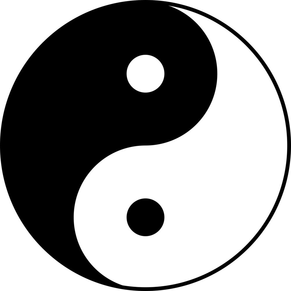 Yin yang image clipart picture royalty free stock Free Yin Yang Symbol, Download Free Clip Art, Free Clip Art ... picture royalty free stock