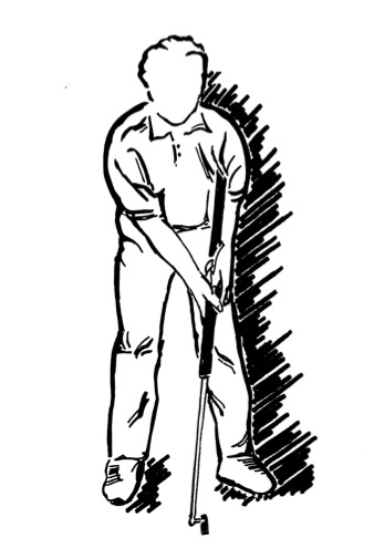 Yips clipart clipart free download Eliminate The Putting Yips   Crosshairs Golf Putter ... clipart free download