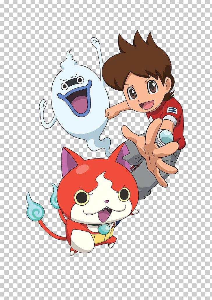 Yo kai watch clipart png freeuse Yo-kai Watch 2 Jibanyan Notebook Nintendo 3DS PNG, Clipart ... png freeuse