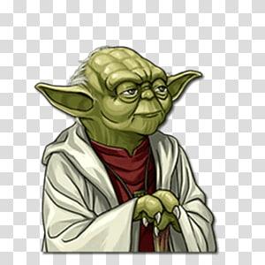 Yoda buddha clipart clipart black and white stock Yoda Star Wars Sticker Telegram Emoji, others transparent ... clipart black and white stock