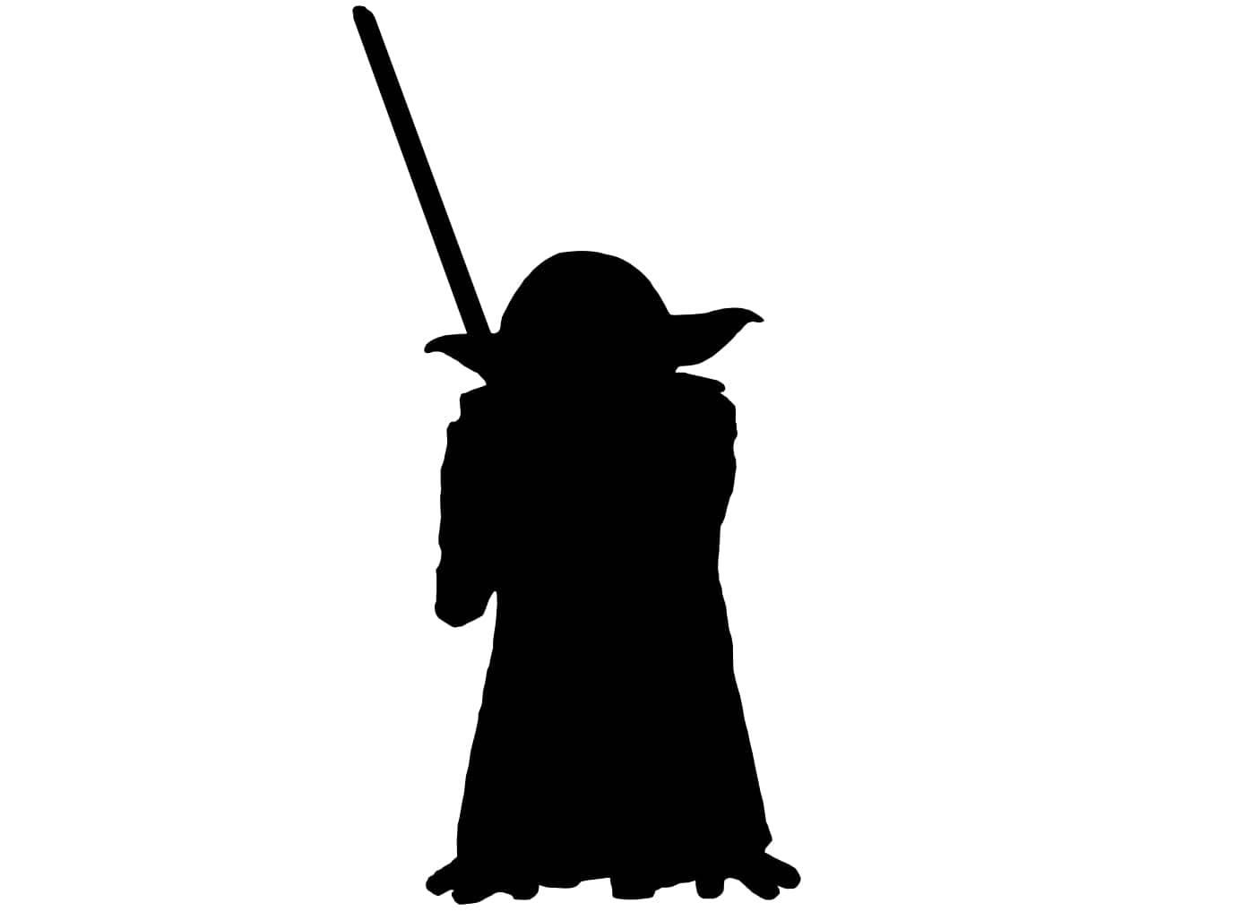 Yoda silhouette clipart free picture stock Star Wars Yoda Silhouette at GetDrawings.com | Free for ... picture stock
