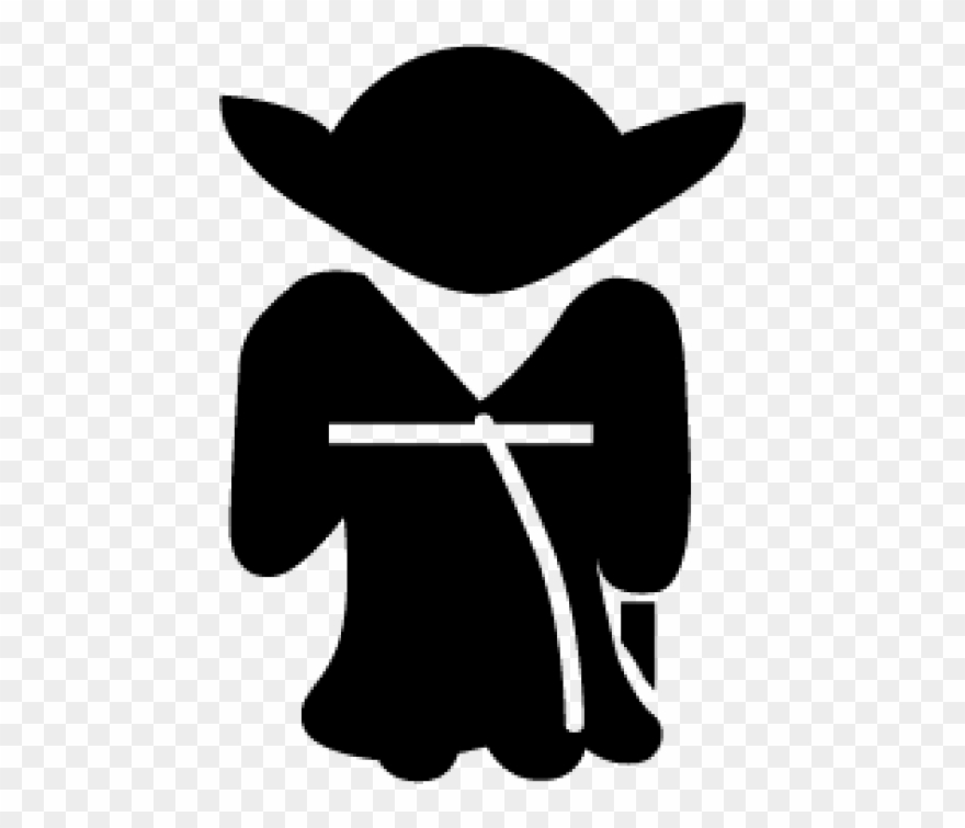Yoda silhouette clipart free banner Free Png Yoda Silhouette Png Images Transparent - Star Wars ... banner