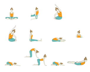 Yoga at high school clipart vector freeuse download Yoga Sequence For Teenagers: Yoga For High School Students ... vector freeuse download