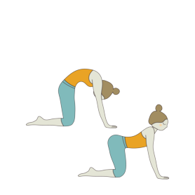 Yoga cat pose clipart royalty free library Ananda Spa on Twitter: \