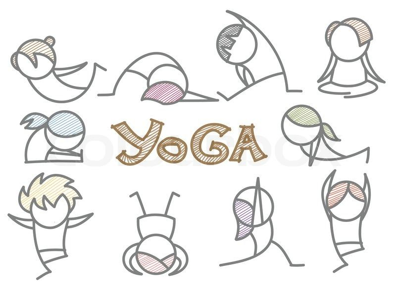 Yoga clipart cartoon png free download Funny Yoga Clip Art Free | Displaying (15) Gallery Images ... png free download