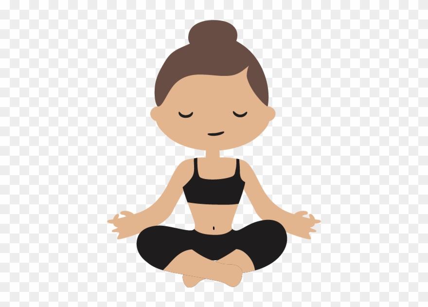 Yoga clipart cartoon clip art freeuse download Cartoon Physical Fitness Yoga Transprent Png Free ... clip art freeuse download