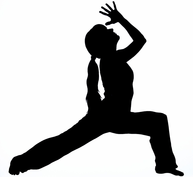 Yoga clipart free silhouettes banner freeuse library Download Free png Free yoga clipart silhouette - DLPNG.com banner freeuse library