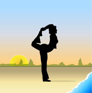 Yoga clipart large graphic freeuse library health and wellness in midlife – Living Large In Our Little ... graphic freeuse library
