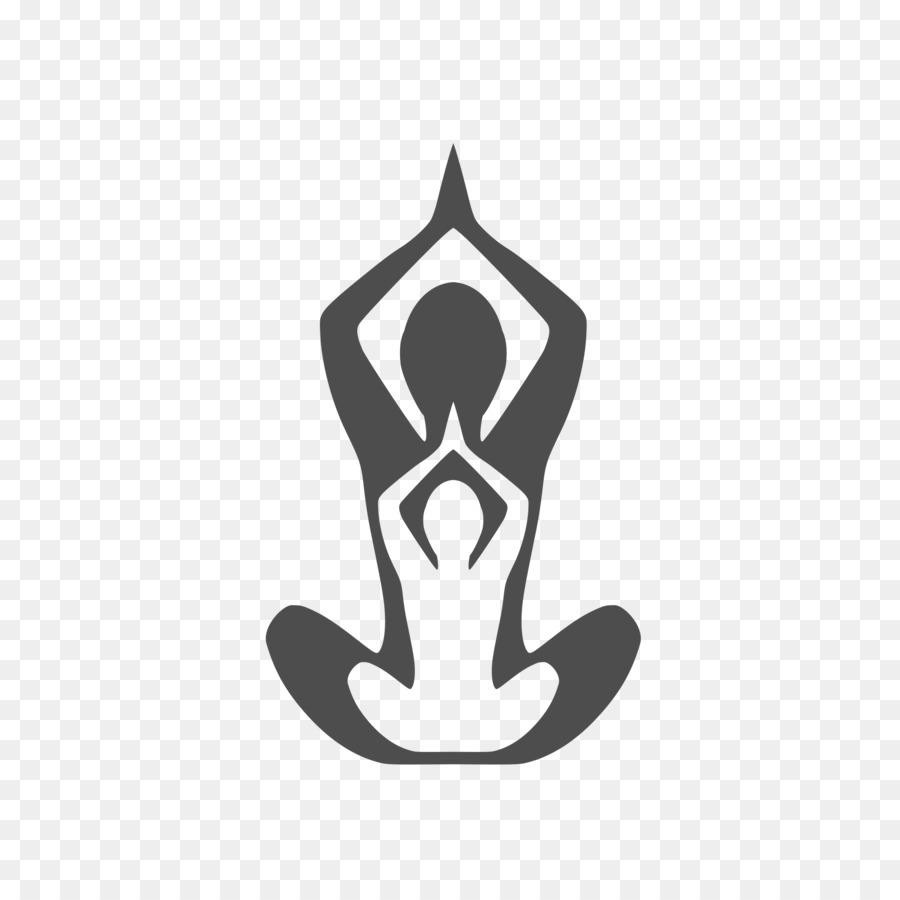 Yoga clipart logo image transparent download Yoga Background clipart - Yoga, White, Black, transparent ... image transparent download