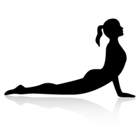 Yoga cobra clipart black and white stock Yoga Part 2: Some Poses learned in Yoga Class! – Sarah\'s Blog black and white stock