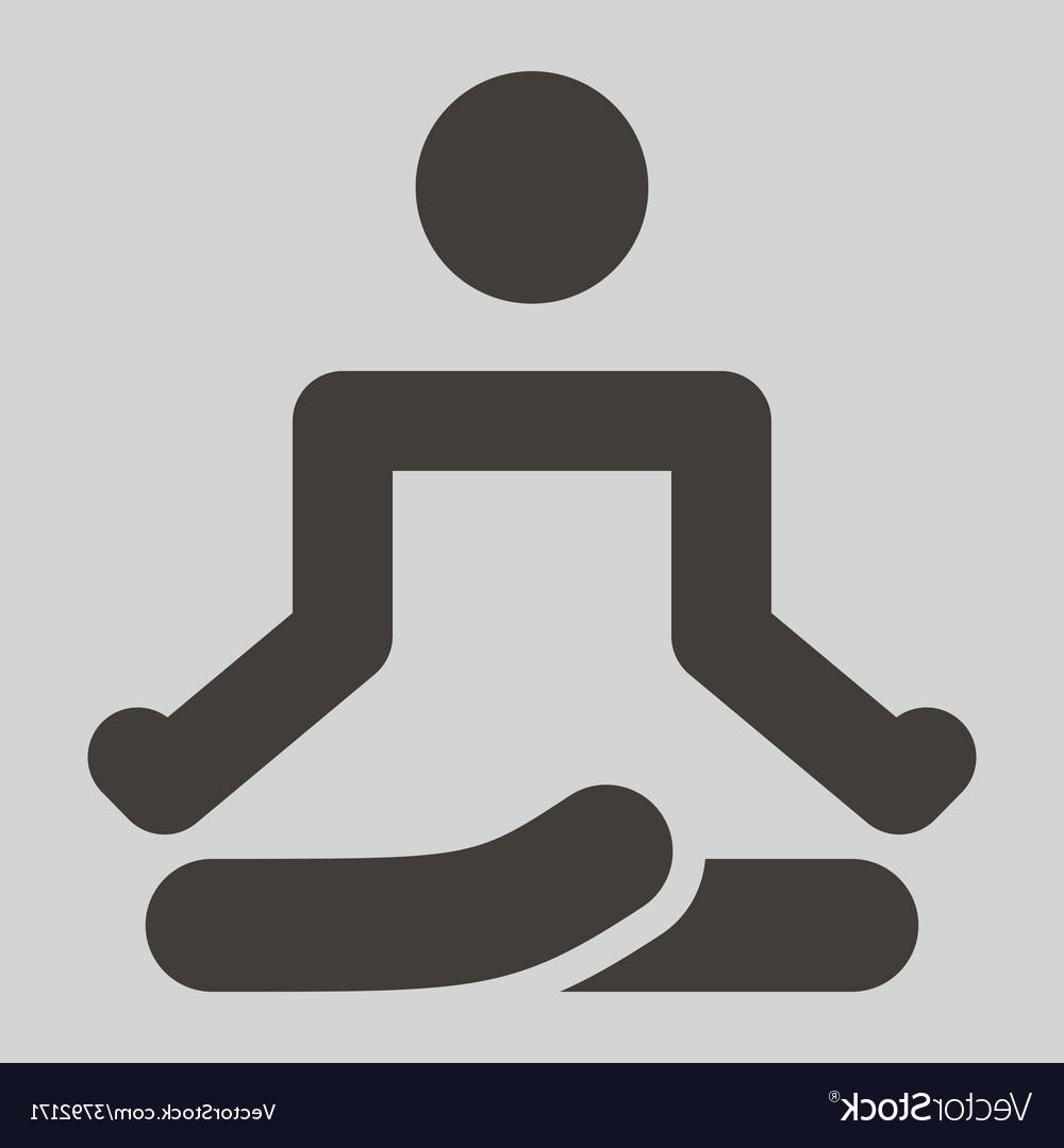 Yoga icon clipart clip library stock Top Yoga Icon Vector Cdr » Free Vector Art, Images, Graphics ... clip library stock