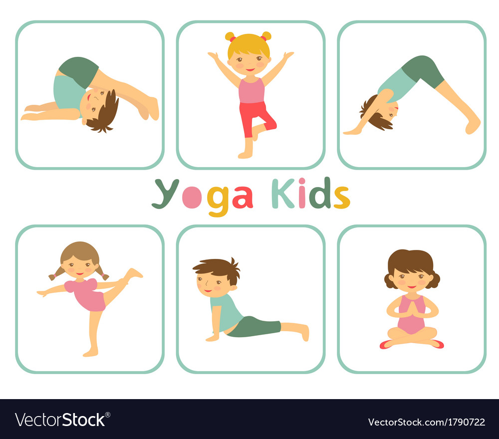 Yoga kid clipart transparent library Yoga kids transparent library