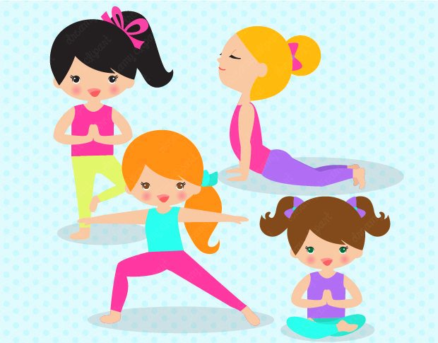 Yoga kid clipart jpg royalty free Yoga Poses for Kids – 6 Easy yoga poses for kids | Indian ... jpg royalty free