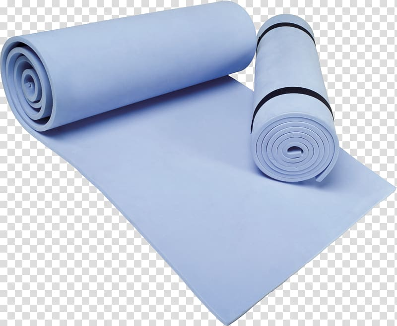Yoga mat and ball clipart clipart transparent stock Yoga mat Pilates Physical exercise, Blue carpet transparent ... clipart transparent stock