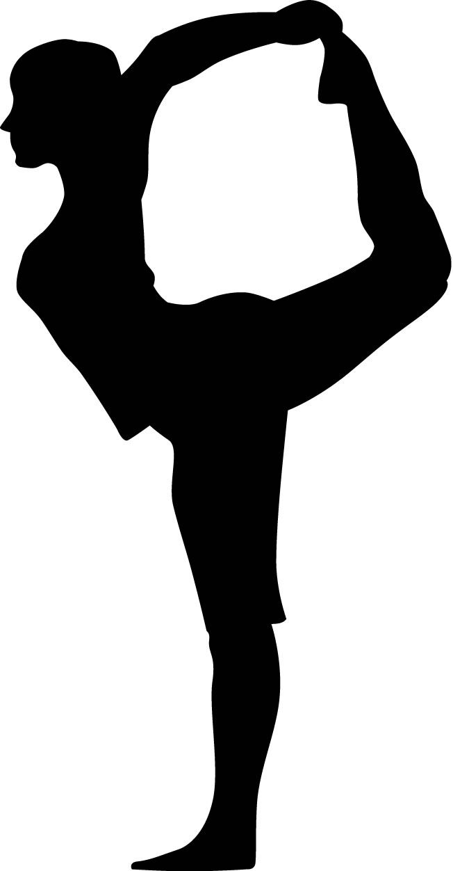 Yoga pose silhouette clipart svg royalty free download Yoga Clipart Black And White | Free download best Yoga ... svg royalty free download