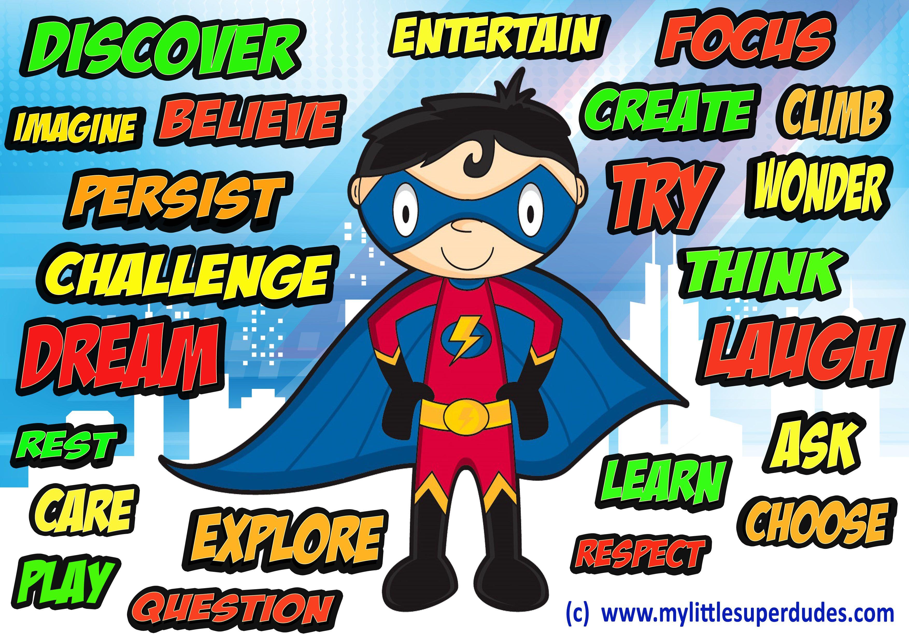 Yoga super hero teacher clipart picture freeuse library superhero quote | Quotes | Superhero classroom theme ... picture freeuse library