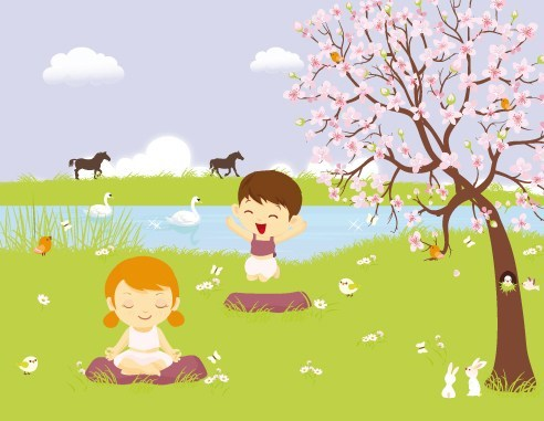 Yoga super hero teacher clipart image library stock Earth Day Yoga Fun image library stock