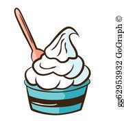 Yogurt clipart free transparent Yogurt Clip Art - Royalty Free - GoGraph transparent