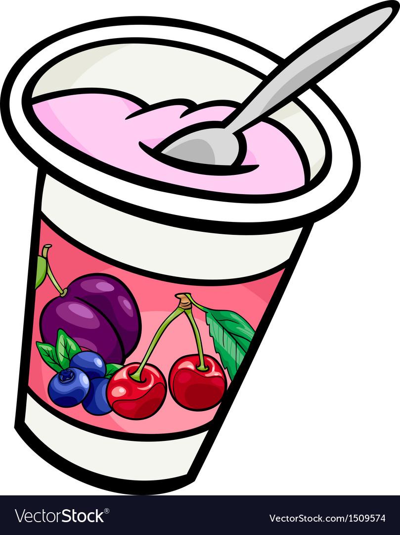 Yogurt clipart png image freeuse stock Yogurt clip art cartoon image freeuse stock