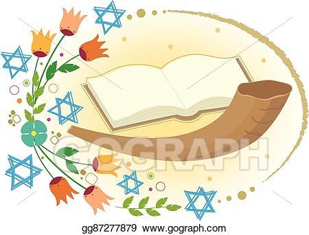 Yom kippur clipart image clip art royalty free EPS Vector - Yom kippur clip art. Stock Clipart Illustration ... clip art royalty free