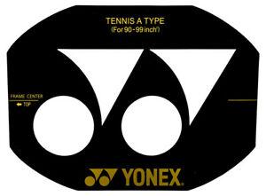 Yonex logo clipart clip art library Details about Yonex Logo Tennis Racquet Racket String Stencil clip art library