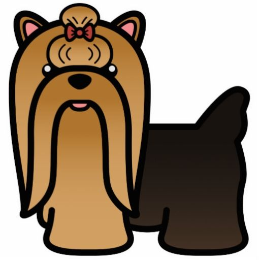 Yorkie clipart long hair svg free stock Collection of Yorkie clipart | Free download best Yorkie ... svg free stock