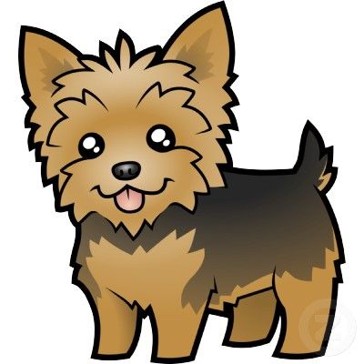 Yorkie with a cast clipart picture transparent stock Yorkie puppies clipart - Clip Art Library picture transparent stock