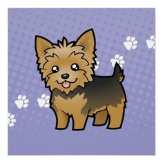 Yorkie with a cast clipart vector black and white stock Yorkies - Clip Art Library vector black and white stock