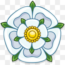 Yorkshire rose clipart picture stock White Rose Of York PNG and White Rose Of York Transparent ... picture stock