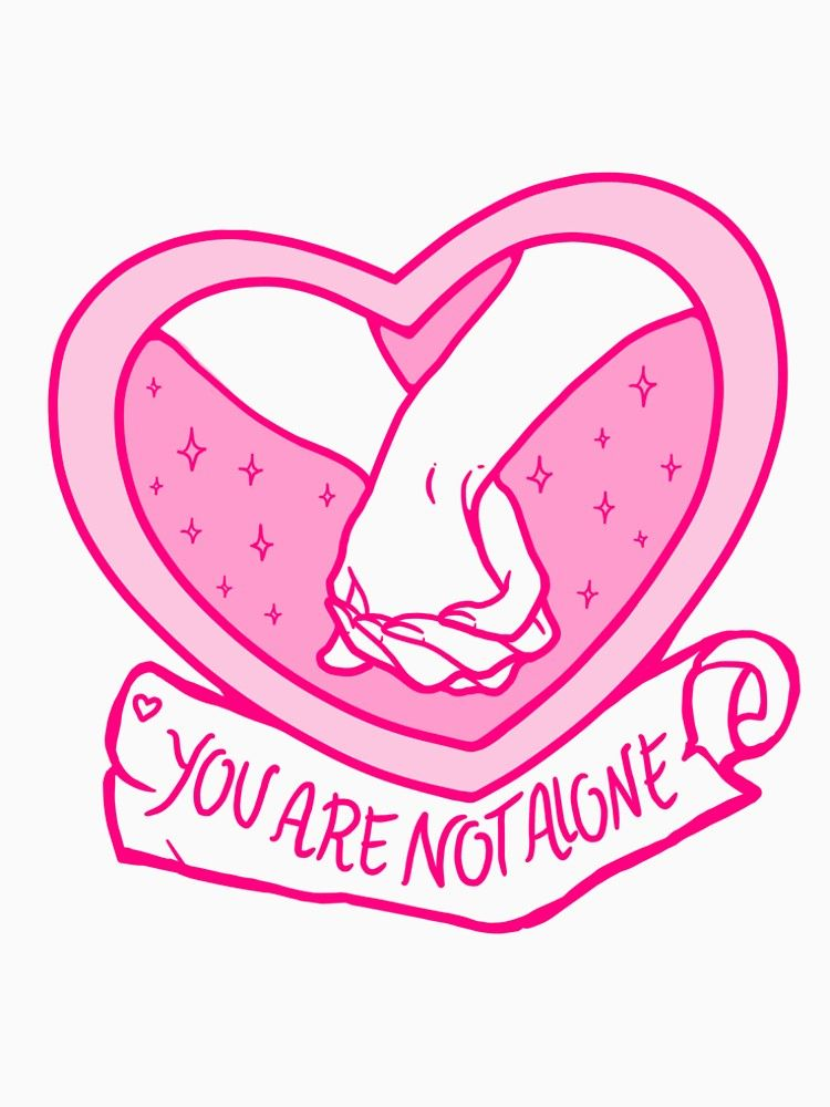 You are not alone clipart banner library download You Are Not Alone! | Premium Scoop T-Shirt | Giuliaiulia banner library download