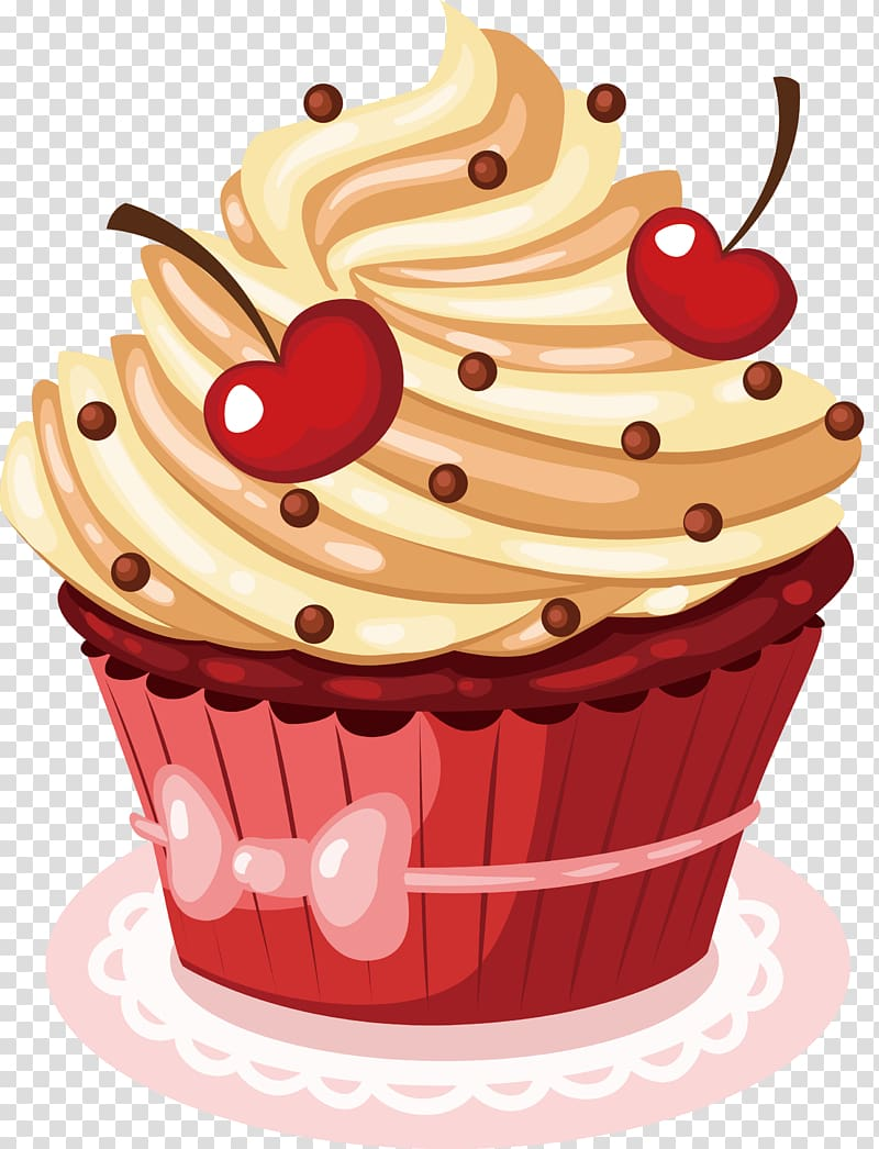 You are the icing on the cake clipart vector royalty free stock Cupcake , Happy Birthday to You Wish Greeting card, Cherry ... vector royalty free stock
