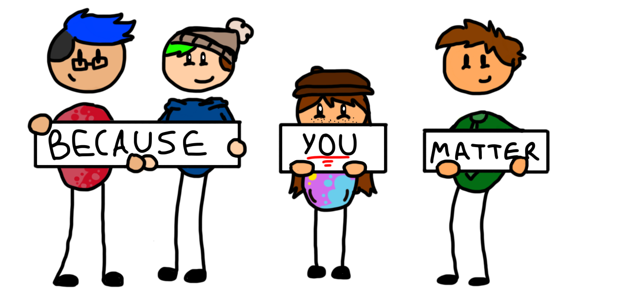 You matter clipart jpg transparent library because YOU matter by pegastarstudios on DeviantArt jpg transparent library