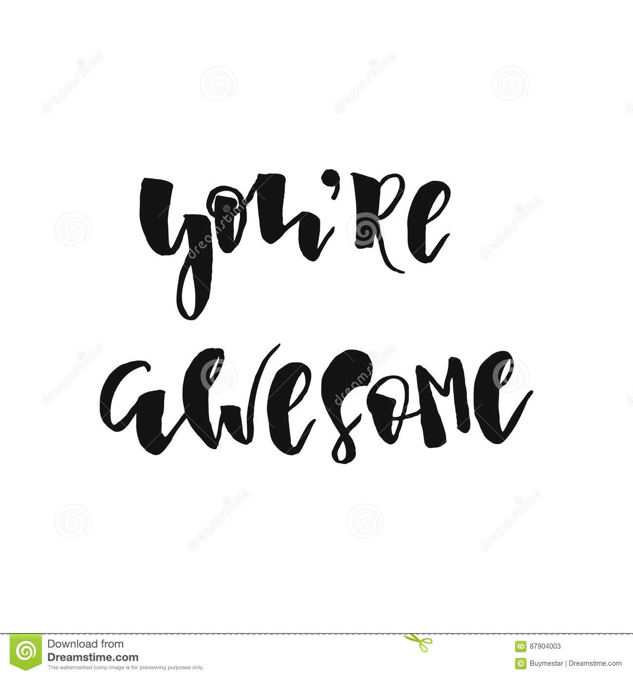 You re awesome clipart picture black and white library You re awesome clipart 7 » Clipart Station picture black and white library
