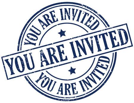 You re invited stamp clipart picture free download you re invited clipart - Honey & Denim picture free download